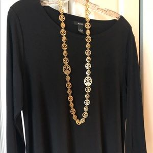 CHICO'S Gold Necklace